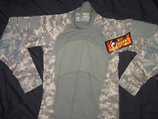 MASSIF GEAR SHIRT COMBAT X SMALL NEW TAG MADE USA MILITARY ACU DIGITAL CAMO etyw