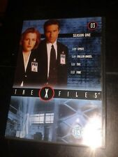 * DVD TV * THE X FILES SEASON 1- 3 * 4 EPISODES