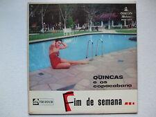 QUINCAS E OS COPACABANA - FIM DE SEMANA... LP MONO 1958 BRAZIL JAZZ SAMBA BOSSA