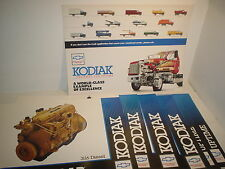1993 Chevy Kodiak Advertising Signs and a 10' Banner New Old Stock