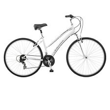 Schwinn Network 1.0 700c Womens 16 Hybrid Bike,16-Inch/Small,White- S4017D NEW
