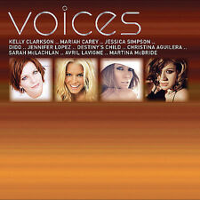 VOICES - Jessica Simpson, Kelly Clarkson, Mariah Carey, Dido, Pink  * NEW CD