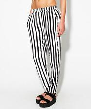 Evil Twin Walk The Line Black White Stripe Tapered Newcastle PJ Trouser XS M L