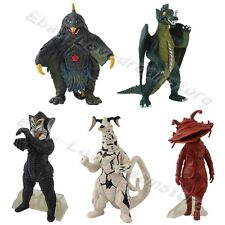 5pcs Ultraman Kaiju Monster Alien Mephilas Eleking Bemster 11cm-13cm Figure Set