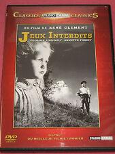 JEUX INTERDITS de René Clément (Brigitte Fossey/Georges Poujouly)  DVD