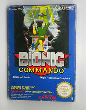 BIONIC COMMANDO FULL NINTENDO NES  PAL  VERY GOOD CONDITION SHIPPING 24/48H