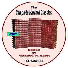 The Harvard Classics Complete Edited by Charles W. Elliot 51 PDF Volumes on DVD