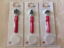 Sizzix Paddle Punch Positionable Hand Scrapbook Tool Paper Craft Lot Of 3