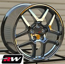 "Corvette Wheels 2001 C5 Z06 Chrome Rims 17""/18"" inch fit Corvette C5 1997-2004"