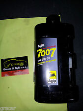 1 Lt Olio motore Agip 0w30 7007 Full Synthetic vw506.01 503.00 506.00 Long Life