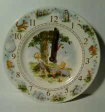 Royal Doulton Wall Clock Winnie the Pooh and Christopher Robin