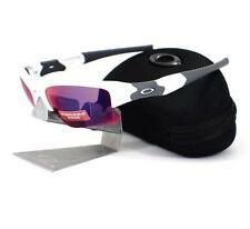 Oakley OO 9009-07 FLAK JACKET XLJ Polished White Prizm Road Mens Sunglasses Rare
