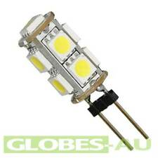 4x 12V LED G4 COOL WHITE LIGHT 5050 9 SMD Cabinet Camper Bulb Globe Boat Garden