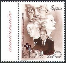 Monaco 1998 Red Cross/Health/Welfare/Medical/People/Royalty 1v (n40284)