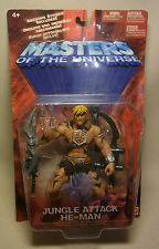 Mattel Masters of the Universe MotU JUNGLE ATTACK HE-MAN OVP 2002 Action Figur