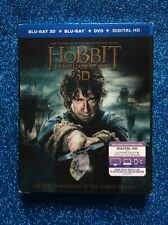 Hobbit: The Battle Of The Five Armies 3D,The (5-Disc Blu-ray 3D Set) NEW w/ Slip