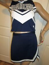 Cheerleader Uniform Outfit Costume EAGLES Youth 2XL Adult Medium 36/30 Stunning