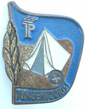 ANCIENNE INSIGNE MILITAIRE TUNGER TOURIST TUNISIE BEDOUIN MILITARIA MILITARY