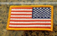 ARMY PATCH, REVERSE U.S FLAG PATCH, WITH VELCR