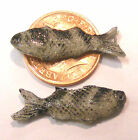 1:12 Scale 2 Fish For A Dolls House Miniature Kitchen Or Shop Food Accessory M