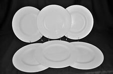 VILLEROY & BOCH Royal White Dinner Plates Set/6 New