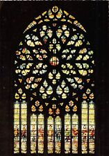 BF40536 beauvais la catehdrale rosace du portail  france stained glass vitraux