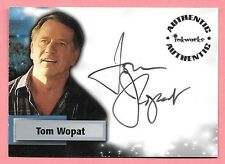 2006 Smallville Season 5 #A36 Tom Wopat as Sen. Jack Jennings On Card Autograph