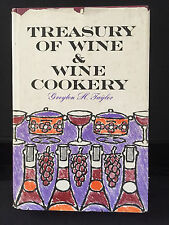 Treasury of Wine & Wine Cookery Greyton H. Taylor 1963 First Edition SIGNED