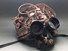 New Goggles Steampunk Fantasy Aesthetic Design Skull Masquerade Halloween Mask