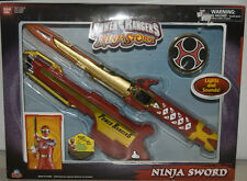 NEW Power Rangers Ninja Storm Ninja Sword with Lights & Sounds Bandai Old Stock