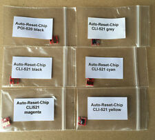1 juego de auto Reset chips canon pgi520 cli521 mp980 mp990 incl. chip para gris!!!