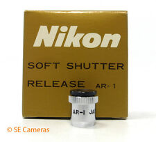 NIKON AR-1 SOFT SHUTTER RELEASE BUTTON - MINT/UNUSED BOXED
