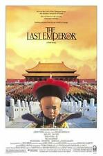 "THE LAST EMPEROR 27""x41"" Original Movie Poster One Sheet ROLLED Bertolucci 1987"