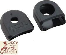 RACE FACE SMALL BLACK BICYCLE CRANK BOOTS---2 IN A PACK