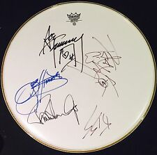 Gene Simmons Paul Stanley Ace Frehley Peter Criss KISS Signed Autographed Drum