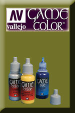 Game Color Camouflage Green 72031 Acrylic Paint Acrylfarbe VALLEJO