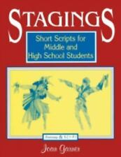 Stagings: Short Scripts for Middle and High School Students-ExLibrary
