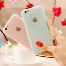Bling Glitter Silicone Gel Rubber Case Ultra Thin Slim Cover Skin For iPhone 6s