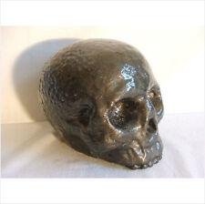 Jawless cráneo decoración de jardín MOLDES/MOLDE DE LÁTEX./molde.