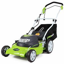 GreenWorks 25022 Corded Electric 12 Amp 20-Inch Lawn Mower