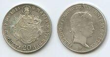 G5826 Österreich Ungarn 20 Kreuzer 1841 B KM#422 Kremnitz Ferdinand I.1835-1848