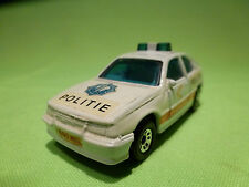MATCHBOX OPEL KADETT GSI POLICE POLITIE CAR 1/57 - GOOD CONDITION