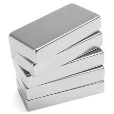 1Pc N52 Super Strong Block Cuboid Magnet 50x25x10mm Rare Earth Neodymium