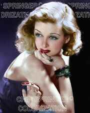 JOAN BENNETT WITH BEADED BRACELETS BEAUTIFUL COLOR PHOTO BY CHIP SPRINGER