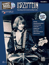 LED ZEPPELIN BASS PLAY ALONG BOOK + CD JOHN PAUL JONES