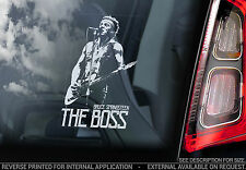 Bruce Springsteen 'THE BOSS' - Car Window Sticker -Rock Music E Street Band -V02