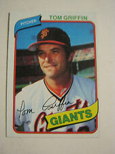 1980 Topps #649 Tom Griffin Baseball Card, Good Cond. (GS23-15)