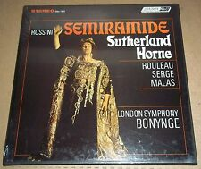 Sutherland/Horne/Bonynge ROSSINI Semiramide - London OSA 1383 SEALED