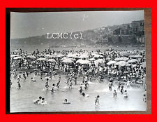 FOTOGRAFIA PHOTO VINTAGE B/N BLACK AND WHITE 1978 NAPOLI IL LIDO MAPPATTELLA