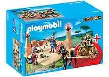 Playmobil Rome Réf 6868 NEUF,Ensemble Romains,Gladiator avec Chariot,Romain,